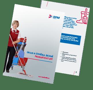 brožura úklidových služeb