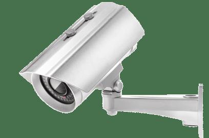 Bezpečnostní kamera recepce