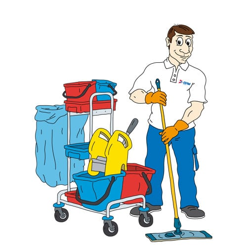 Pracovník úklidu