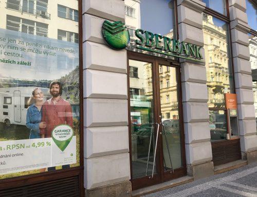 Převzali jsme do správy pobočky Sberbank vČR